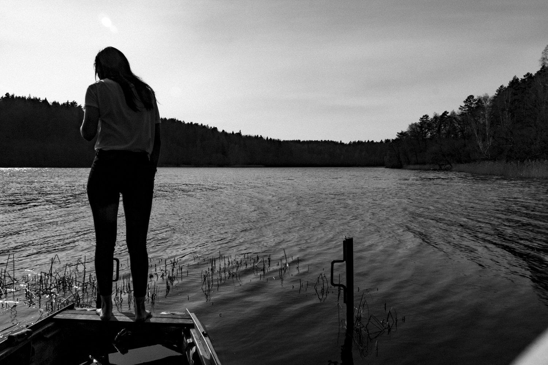 Álvaro Caramés. Fotografía. Sauletekio. Green Lake. Vilnius. 17-4-2016